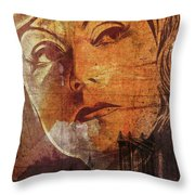 Missing New York Throw Pillow