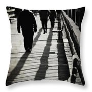Missing The Shadows Throw Pillow