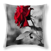 Missing You... Throw Pillow by Kaye Menner