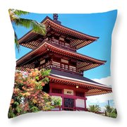 Mission 12 Throw Pillow