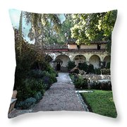 Mission 3 Throw Pillow