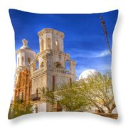 Mission 48 Throw Pillow
