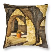 Mission Arches Throw Pillow