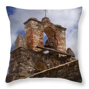 Mission Espada Bell Throw Pillow