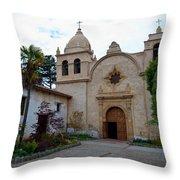 Mission Carmel Throw Pillow