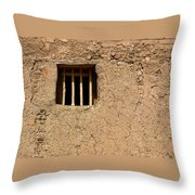 Mission Church Window Throw Pillow