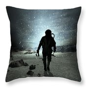 Mission Completed Throw Pillow