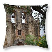Mission In Summer Throw Pillow