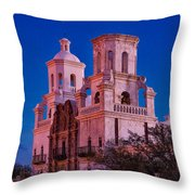 Mission Moon Glow Throw Pillow