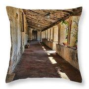Mission San Carlos Borromeo De Carmelo Throw Pillow