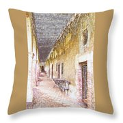Mission San Juan Capistrano No 5 Throw Pillow
