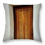 Mission San Juan - Door Throw Pillow