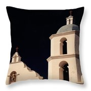 Mission San Luis Rey Throw Pillow