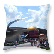 Mission Space Pavilion Throw Pillow