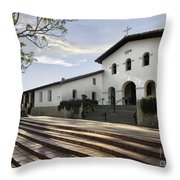 Mission Stairs Throw Pillow