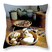 Mission Still In Color Throw Pillow
