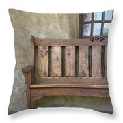 Mission Still Life II, Mission San Juan Capistrano, California Throw Pillow