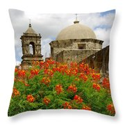 Mission Summer Throw Pillow