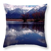Mission Valley Montana Throw Pillow