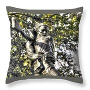 Mississippi At Gettysburg - Desperate Hand-to-hand Fighting No. 2 Throw Pillow