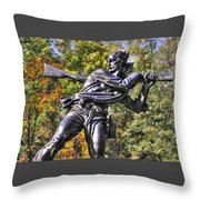 Mississippi At Gettysburg - Desperate Hand-to-hand Fighting No. 3 Throw Pillow