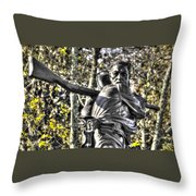 Mississippi At Gettysburg - Desperate Hand-to-hand Fighting No. 4 Throw Pillow