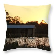 Mississippi Bayou 12 Throw Pillow