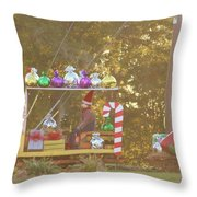 Mississippi Christmas 1 Throw Pillow