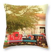 Mississippi Christmas 10 Throw Pillow