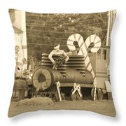 Mississippi Christmas 11 Throw Pillow