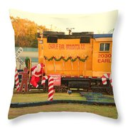 Mississippi Christmas 13 Throw Pillow