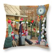 Mississippi Christmas 20 Throw Pillow