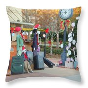 Mississippi Christmas 7 Throw Pillow