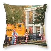 Mississippi Christmas 8 Throw Pillow