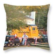 Mississippi Christmas 9 Throw Pillow