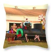 Mississippi Chrsitmas 12 Throw Pillow