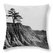 Mississippi Erosion, 1936 Throw Pillow