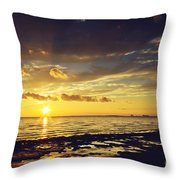Mississippi Gulf Coast Beauty Throw Pillow