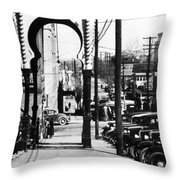 Mississippi Vicksburg Throw Pillow