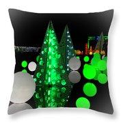 Missouri Botanical Garden Glow Dsc09293 Throw Pillow