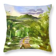 Missouri View Throw Pillow