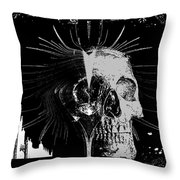 Mist Of Death Throw Pillow