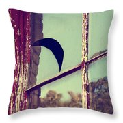 Mister Moon Throw Pillow