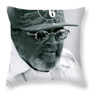 Mister Seventy Sixer Throw Pillow