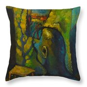 Mystic Room Throw Pillow