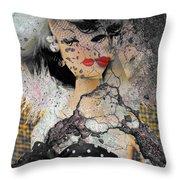 Mistreatment Of A Madam   Throw Pillow