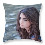 Mistress Of Dreams Throw Pillow