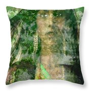 Mistress Of The Wind Throw Pillow