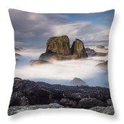 Mists Of The Sea Throw Pillow