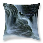 Misty Falls - 70 Throw Pillow